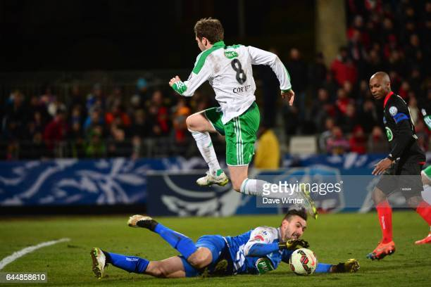 Jody VIVIANI / Benjamin CORGNET Boulogne / Saint Etienne 1/4Finale Coupe de France Photo Dave Winter / Icon Sport