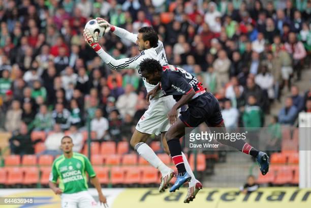 Jody VIVIANI / Peguy LUYINDULA Saint Etienne / PSG Ligue 1 6e journee Photo Dave Winter / Icon Sport