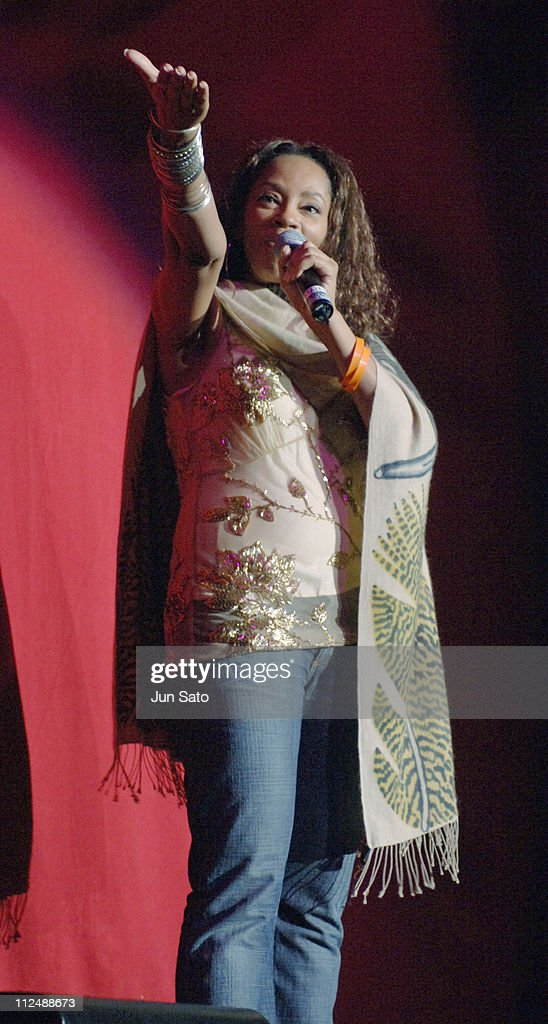 Jody Watley during Force of Nature Concert for Tsunami Aid Show at Stadium Putra in Kuala Lumpur Malaysia