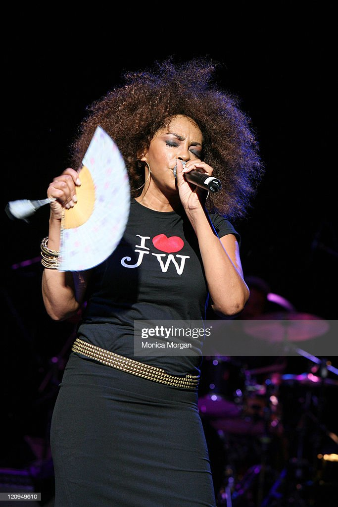 Jody Watley during Jody Watley Performes at The Chene Park Wednesday Night Jazz Series July 12 2006 at Chene Park in Detroit Michigan United States