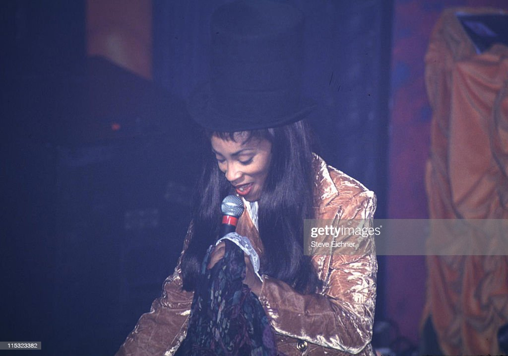 Jody Watley during Jody Whatley in Concert at Club USA 1993 at Club USA in New York City New York United States