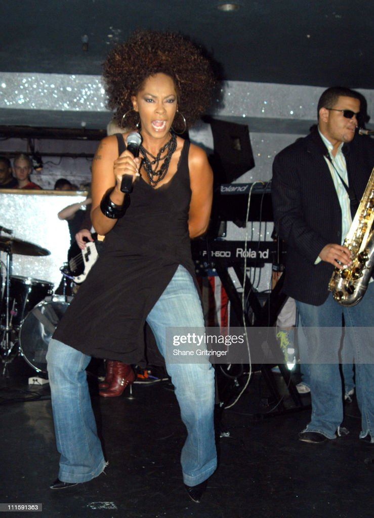 Jody Watley during Mistress Formika Hosts Area 10018 with Special Club Performance by Jody Watley at Opaline Area 10018 in New York City New York...