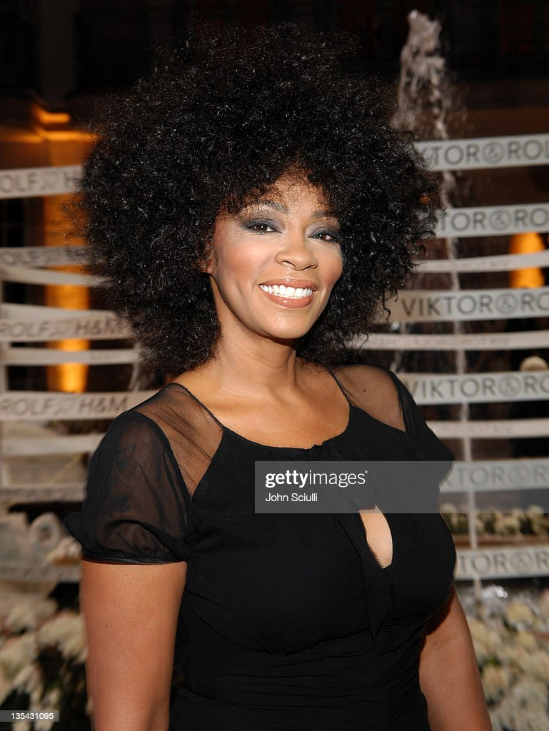 Jody Watley during Viktor Rolf Celebrates The Launch of Their Collection for HM Red Carpet at Private Residence in BelAir California United States