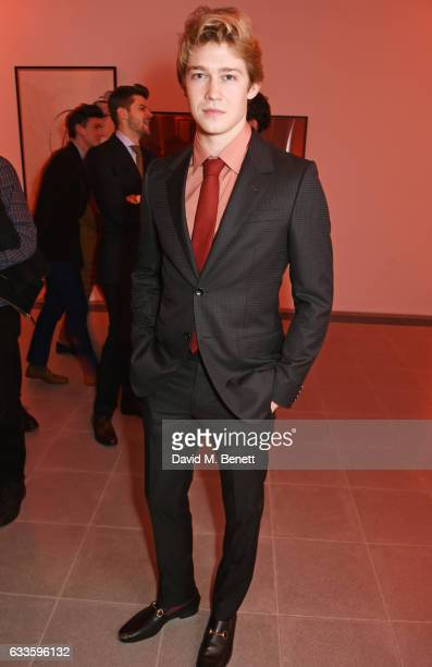 Joe Alwyn attends as Dylan Jones and Marco Bizzarri host a cocktail party to launch new film series 'The Performers' at The Serpentine Gallery on...