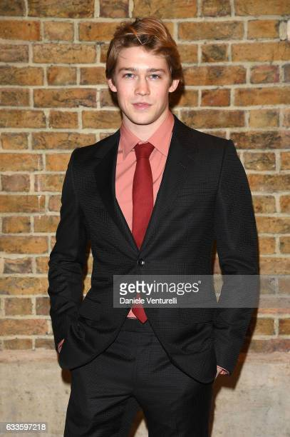 Joe Alwyn attends Dylan Jones and Marco Bizzarri host a cocktail party to launch new film series 'The Performers' at the Serpentine Sackler Gallery...