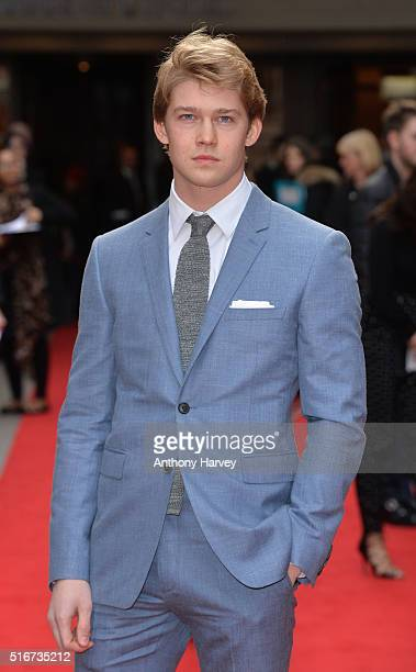 Joe Alwyn attends the Jameson Empire Awards 2016 at The Grosvenor House Hotel on March 20 2016 in London England