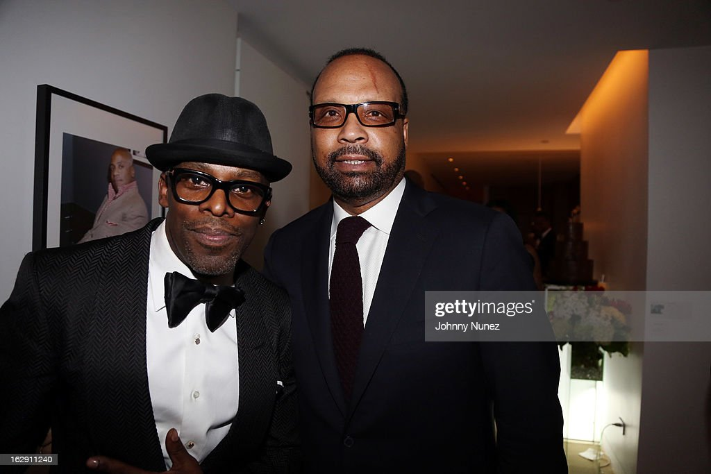Joe and Don Coleman attend Kedar Massenburg's 50th Birthday Celebration at Water Fall Mansion on February 28, 2013 in New York City.