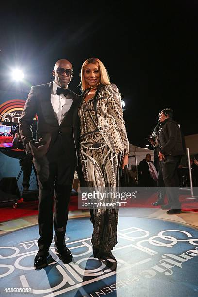 Joe and Tamar Braxton attend 2014 Soul Train Music Awards on November 7 2014 in Las Vegas Nevada