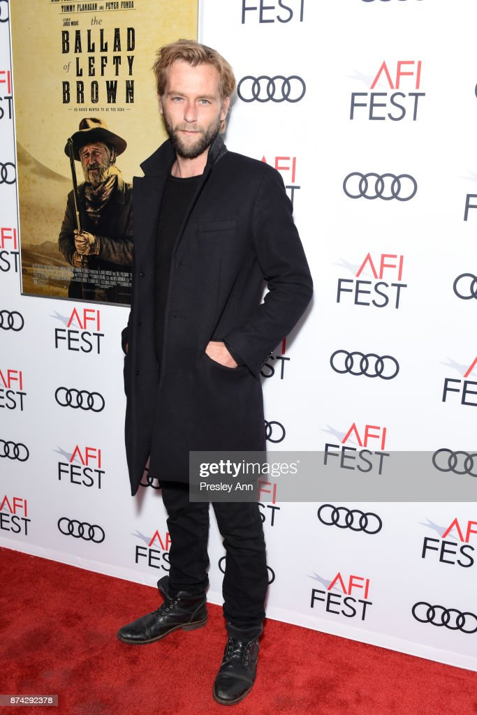Joe Anderson attends the screening of 'Ballad Of Lefty Brown' at AFI FEST 2017 Presented By Audi at the Egyptian Theatre on November 14, 2017 in Hollywood, California.