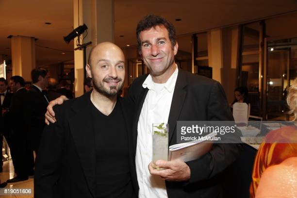 Joe Bastianich and Ken Friedman attend James Beard Foundation Awards 2010 at Lincoln Center on May 3 2010 in New York