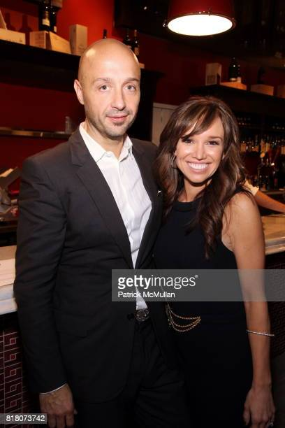 Joe Bastianich and Sarah Gore attend Epicurious 15th Anniversary Dinner at Eataly on September 29 2010 in New York City
