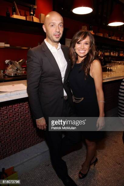 Joe Bastianich and Sarah Gore attend Epicurious 15th Anniversary Dinner at Eataly on September 29 2010 in New York