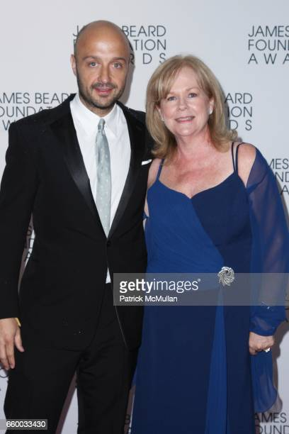 Joe Bastianich and Susan Ungaro attend The 2009 JAMES BEARD FOUNDATION AWARDS at Avery Fisher Hall at Lincoln Center on May 4 2009 in New York City
