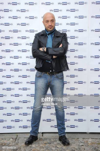 Joe Bastianich attends MasterChef Italia 3 Photocall on December 18 2013 in Milan Italy