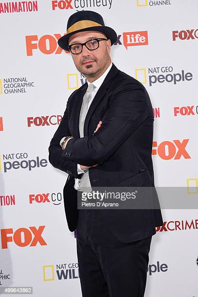 Joe Bastianich attends the Fox Channels Party at Palazzo Del Ghiaccio on December 2 2015 in Milan Italy