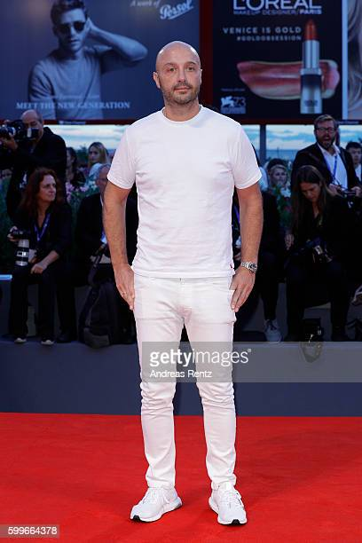 Joe Bastianich attends the premiere of 'The Bad Batch' during the 73rd Venice Film Festival at Sala Grande on September 6 2016 in Venice Italy