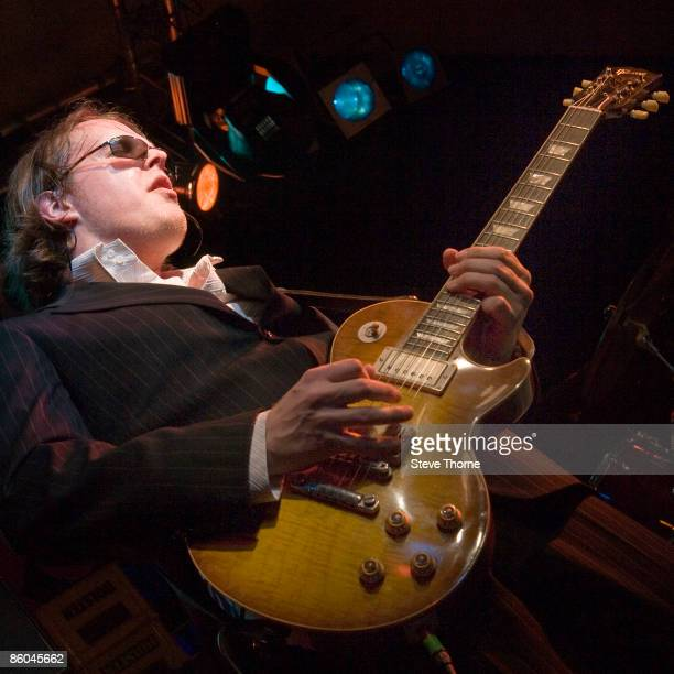 Joe Bonamassa on stage at The Robin II Bilston Wolverhampton UK on February 18 2008