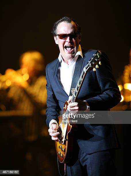 Joe Bonamassa Performs at Eventim Hammersmith Apollo at Hammersmith on March 21 2015 in London England