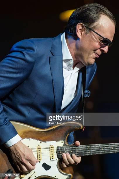 Joe Bonamassa performs at The Royal Albert Hall on April 20 2017 in London United Kingdom