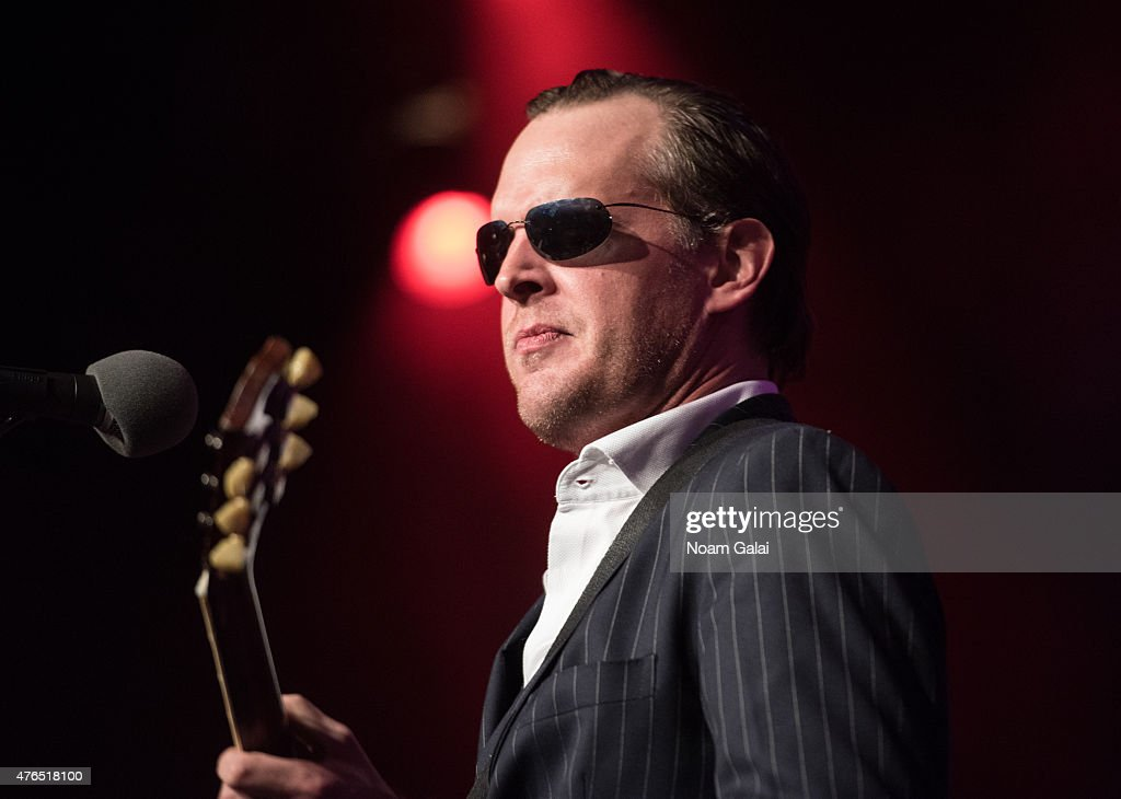 Joe Bonamassa performs during Les Paul's 100th anniversary celebration at Hard Rock Cafe - Times Square on June 9, 2015 in New York City.