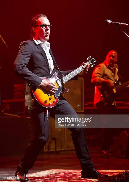 Joe Bonamassa performs on stage at L'Olympia on May 5 2011 in Paris France