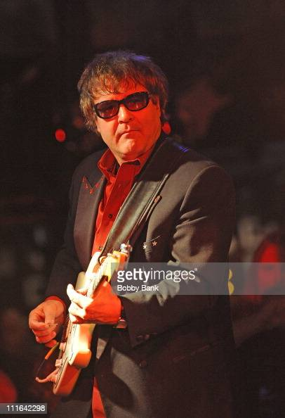 Joe Bouchard plays with Blue Scarlet Coop opening for New York Dolls at the Electric Ballroom 10th Anniversary Party at The Stone Pony on February 20...