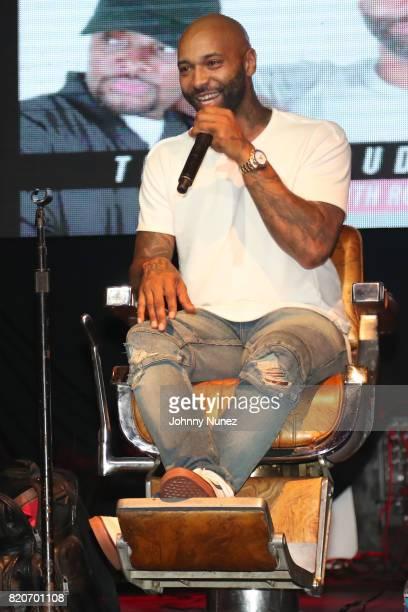 Joe Budden attends the Joe Budden Podcast Live at Highline Ballroom on July 21 2017 in New York City
