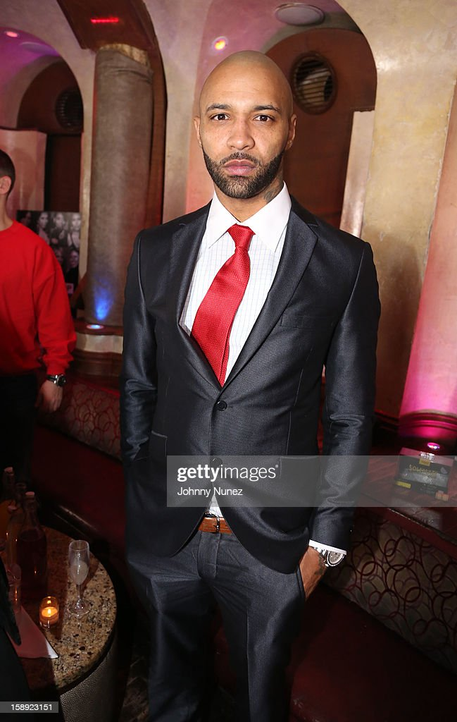 Joe Budden attends the 'Love & Hip Hop' Season 3 Premiere Party at Kiss & Fly on January 3, 2013 in New York City.