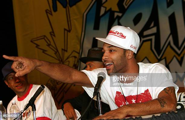 Joe Budden during 2004 Hip Hop Summit New Jersey at New Jersey Patriot Theater in Trenton New Jersey United States