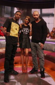 Joe Budden visits BET's '106 Park' with hosts Shorty Da Prince and Ms Mykie at BET Studios on February 5 2013 in New York City