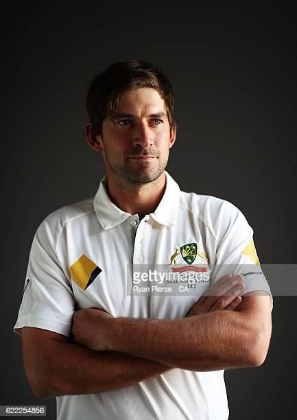 Joe Burns of Australia poses during a Headshots session on November 11 2016 in Hobart Australia
