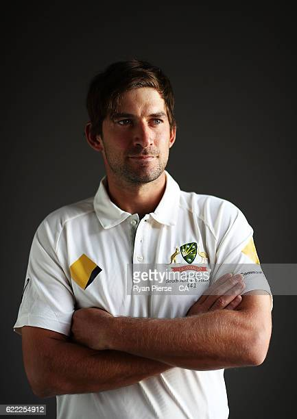 Joe Burns of Australia poses during a Headshots session on November 11 2016 in Hobart Australia
