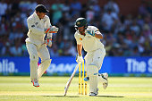 Joe Burns of Australia runs between the wickets during day three of the Third Test match between Australia and New Zealand at Adelaide Oval on...