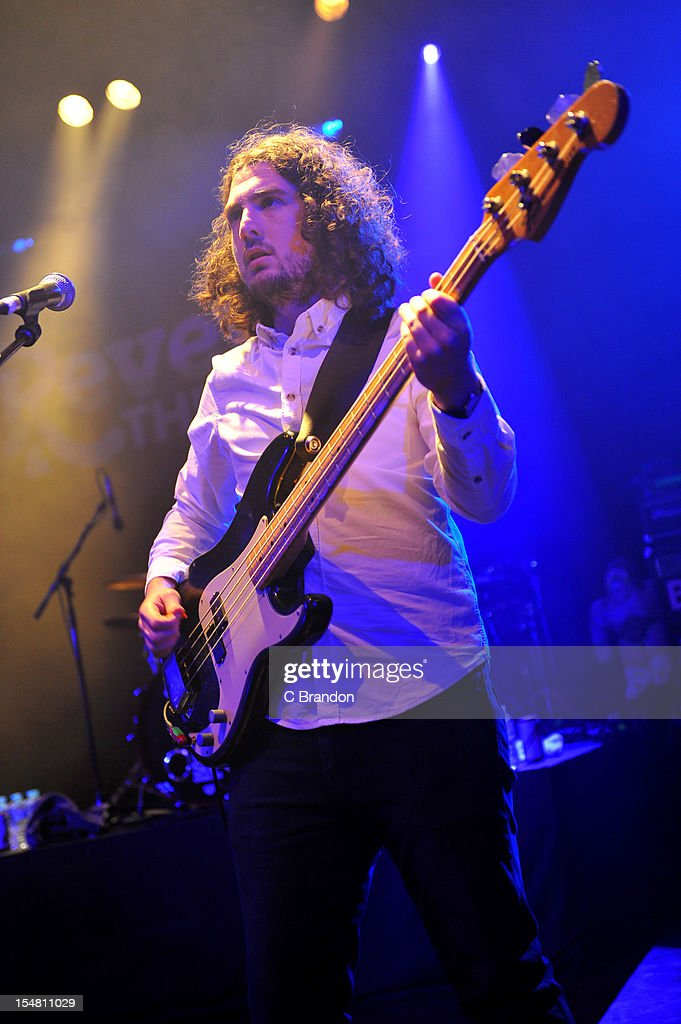 Joe Carnall of Reverend And The Makers performs on stage at Shepherds Bush Empire on October 26, 2012 in London, United Kingdom.