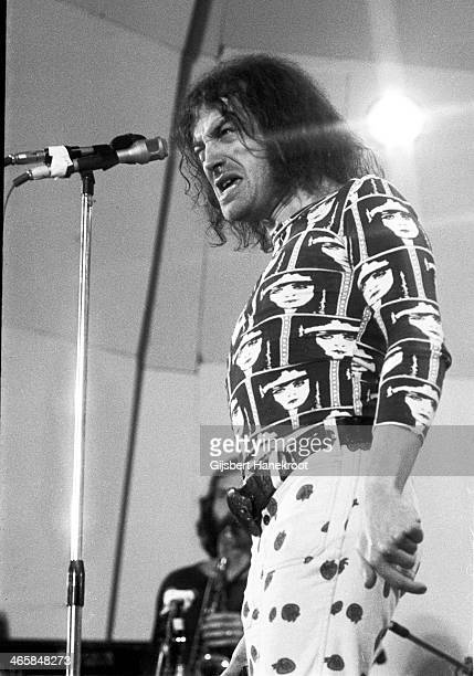 Joe Cocker performs live on stage at Crystal Palace Bowl in London on June 03 1972