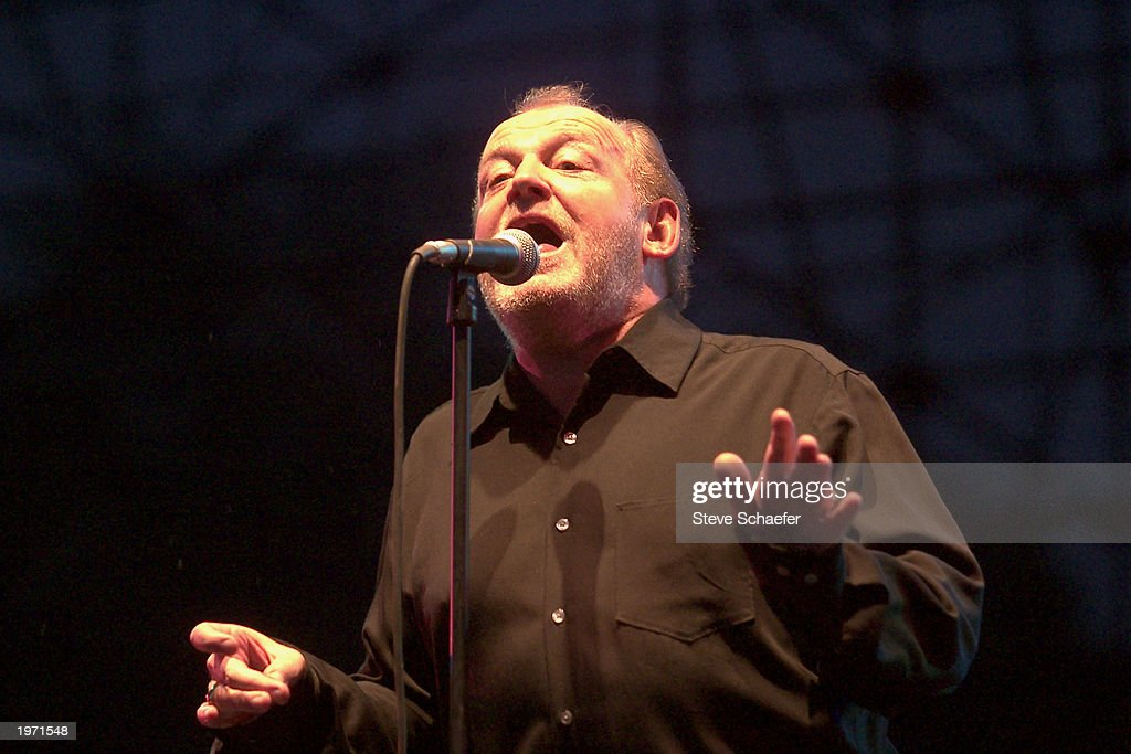 Joe Cocker performs May 3, 2003 during the Music Midtown concert in Atlanta, Georgia. The Music Midtown event features over 120 international, national and local musical acts performing on 11 stages over a 3-day period on a 40 acre complex.