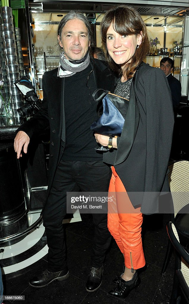 Joe Dahan and Anna Foster attend Joe's x Purple Magazine dinner at Le Caprice on May 13, 2013 in London, United Kingdom.