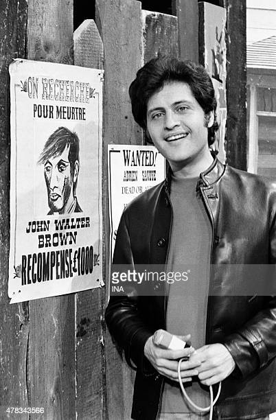 Joe Dassin in the program ''The guest of Sunday''