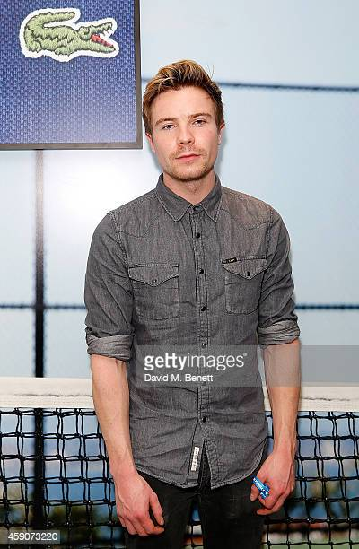 Joe Dempsie attends the Lacoste VIP Lounge at the ATP World Finals 2014 at 02 Arena on November 16 2014 in London England