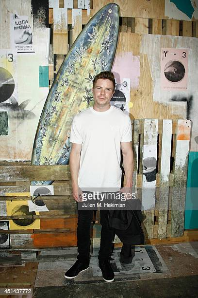 Joe Dempsie attends the Y3 Spring/Summer 2015 Show as part of Paris Fashion Week Menswear S/S 2015 at Couvent des Cordeliers on June 29 2014 in Paris...