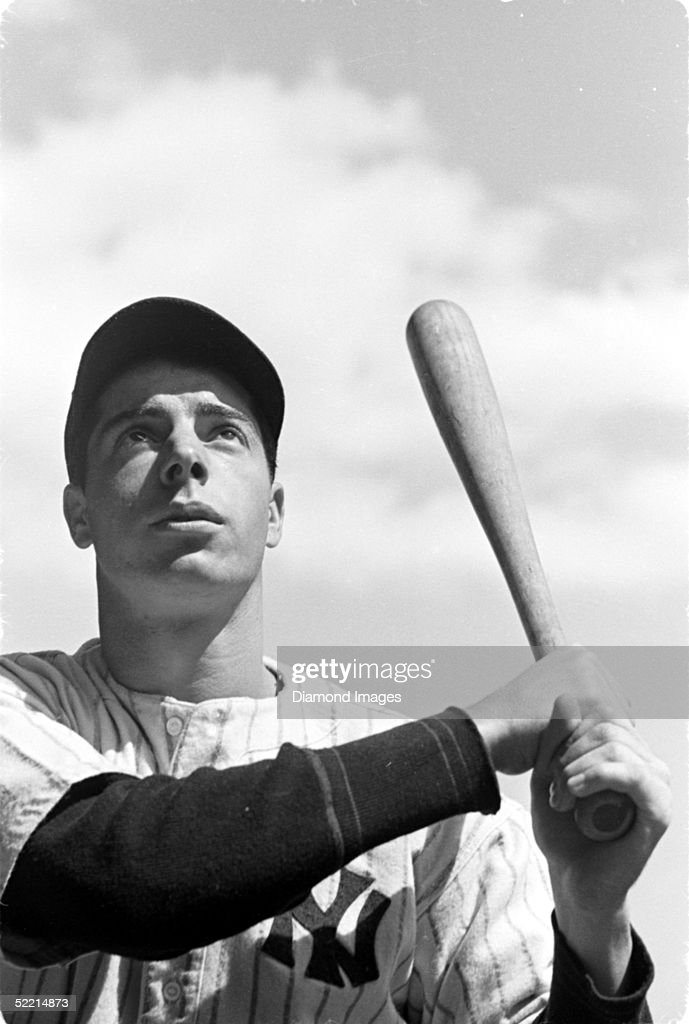 <a gi-track='captionPersonalityLinkClicked' href=/galleries/search?phrase=Joe+DiMaggio&family=editorial&specificpeople=93596 ng-click='$event.stopPropagation()'>Joe DiMaggio</a> #5 of the New York Yankees poses for a portrait prior to a 1937 game at Yankee Stadium in the Bronx, New York.