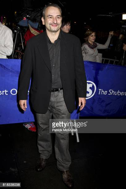 Joe DiPietro attends LA BETE Opening Night and Gala at Music Box Theatre and Gotham Hall on October 14 2010 in New York City