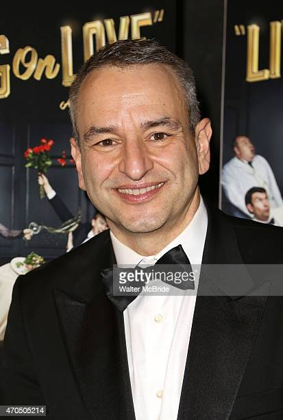 Joe DiPietro attends the Broadway Opening Night Performance After Party for 'Living on Love' at Sardi's on April 20 2015 in New York City