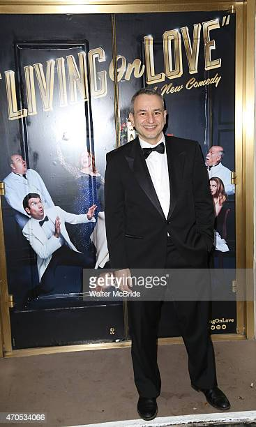 Joe DiPietro attends the Broadway Opening Night Performance of 'Living on Love' at The Longacre Theatre on April 20 2015 in New York City