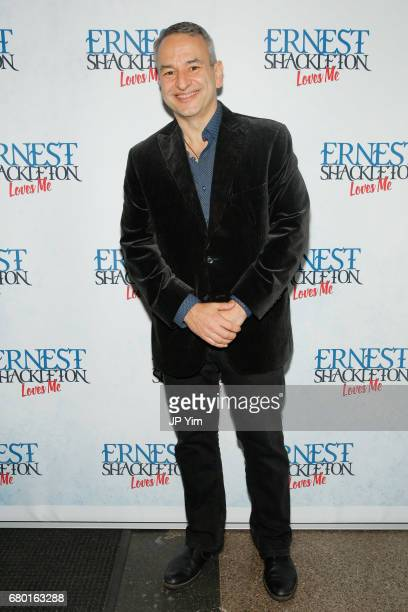 Joe DiPietro attends the OffBroadway opening of 'Ernest Shackleton Loves Me' at the Tony Kiser Theatre on May 7 2017 in New York City