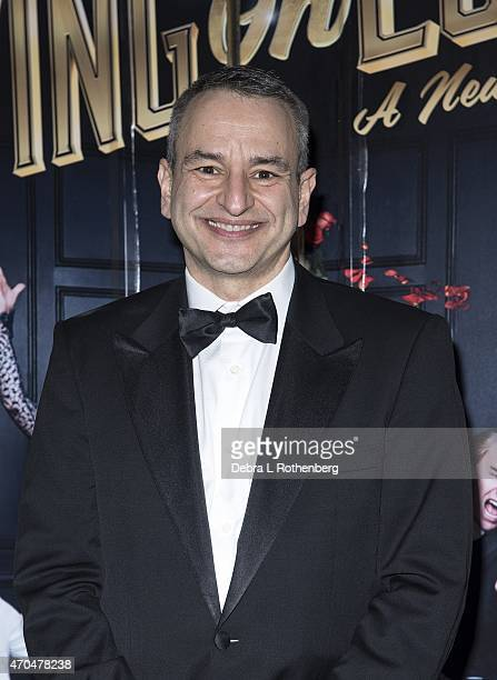 Joe DiPietro attends the opening night of 'Living On Love' at The Longacre Theatre on April 20 2015 in New York City