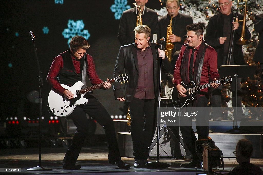 Joe Don Rooney, Gary LeVox and Jay DeMarcus performs during the CMA 2013 Country Christmas on November 8, 2013 in Nashville, Tennessee.