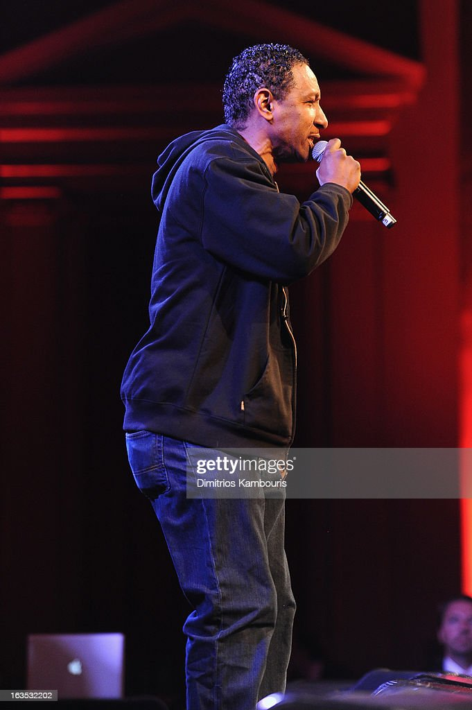 Joe Dres performs onstage with De La Soul at the Endometriosis Foundation of America's Celebration of The 5th Annual Blossom Ball at Capitale on March 11, 2013 in New York City.