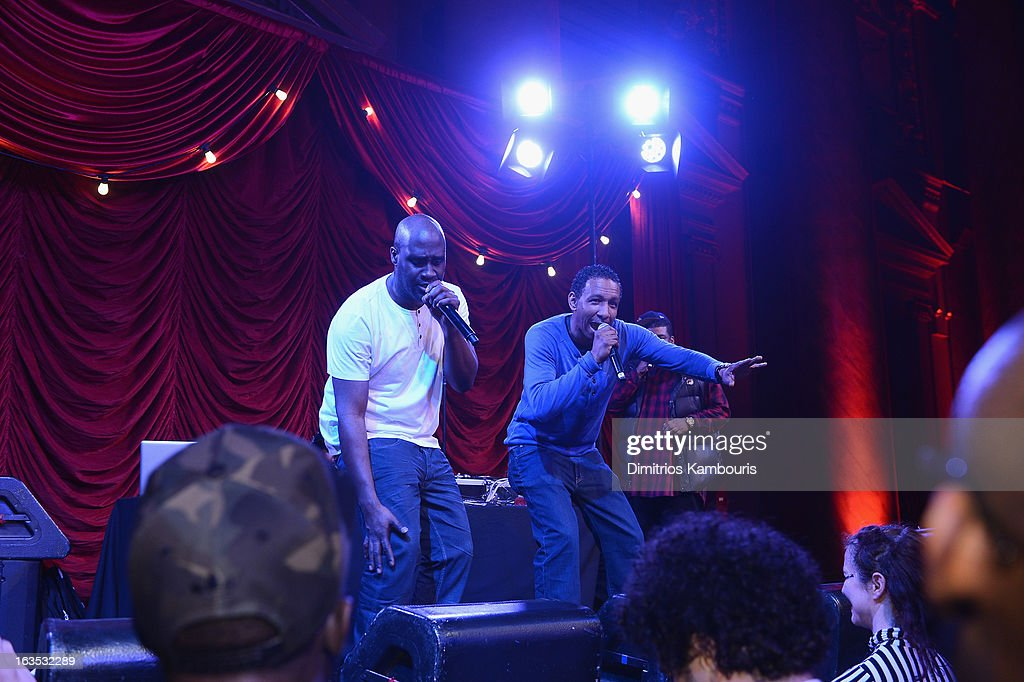 Joe Dres performs with De La Soul onstage at the Endometriosis Foundation of America's Celebration of The 5th Annual Blossom Ball at Capitale on March 11, 2013 in New York City.