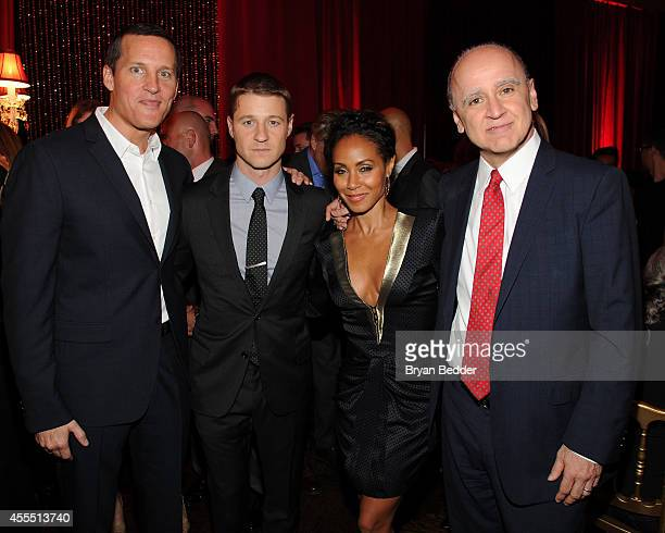 Joe Earley Chief Operating Officer Fox Television Group GOTHAM cast members Ben McKenzie Jada Pinkett Smith and David Madden President Entertainment...